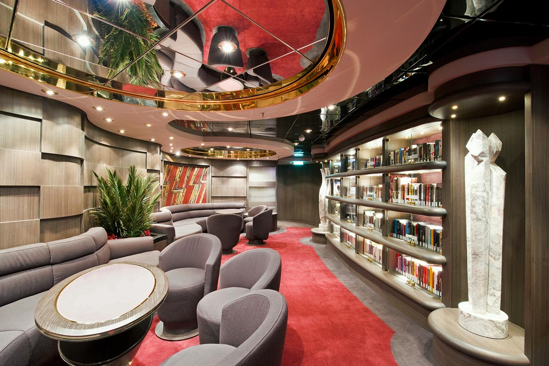 MSC Yacht Club: Library